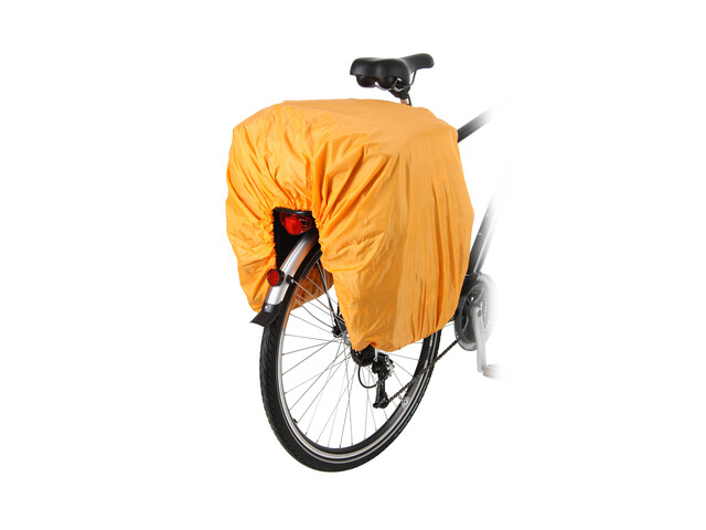 Red Cycling Products - Impermeable para bolsa triple de bicicleta - amarillo